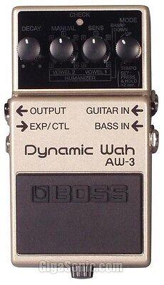 Boss AW-3 AW3 Dynamic Wah Guitar Pedal New Aw 3 Dynamic Wah Guitar