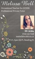 TUTOR AVAILABLE- Barrie area- ONT CERT