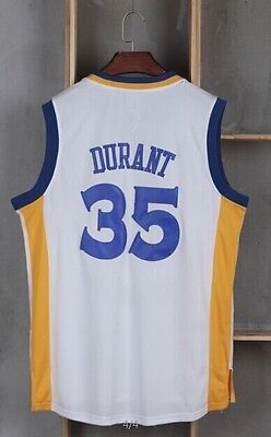 Men's Basketball Jersey Size Small Kevin Durant White Golden State Warriors