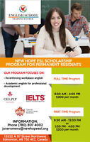 Learn English at New Hope ESL in Edmonton!