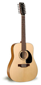 Guitare acoustique Simon & Patrick Woodland 12 cordes