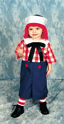 Raggedy Andy Toddler 2 To 4 Toddler Boys Costume - Raggedy Andy Costume Toddler
