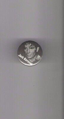 Vintage JACK KEROUAC pin NOVELIST POET of the BEAT GENERATION piback