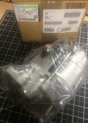 Kubota K7711-96810 Starter Motor Utv -rtv1100 - Rtv1140 - New