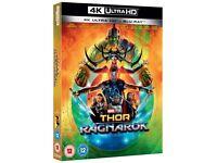 Blu Ray / Thor Ragnarok 4K Ultra HD