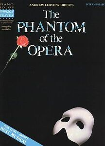 Phantom of the Opera: Piano Sheet Music: