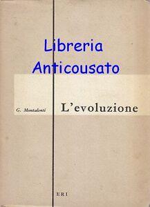 L-EVOLUZIONE-di-Giuseppe-Montalenti-Edizioni-Radio-Italiana-1958-ERI