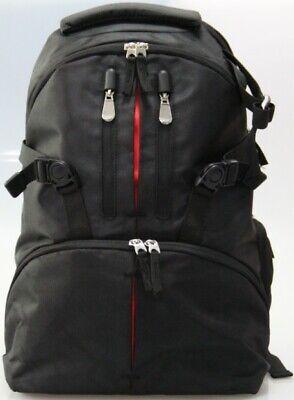 Slight Stiching Faults SLR Camera Backpack Rucksack Bag Case+RainCover