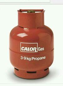 3.9kg calor bottle red propane full