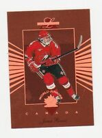 Lot Carte hockey Leaf Limited World Juniors 1994-95 (H59-64)