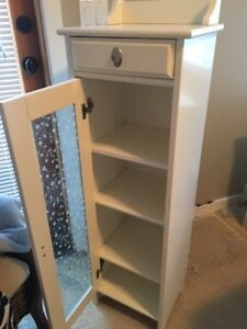 White Bathroom Cabinet - Excellent Condition