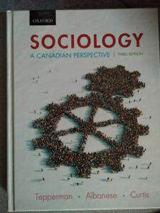 Sociology: A Canadian Perspective Hardcover