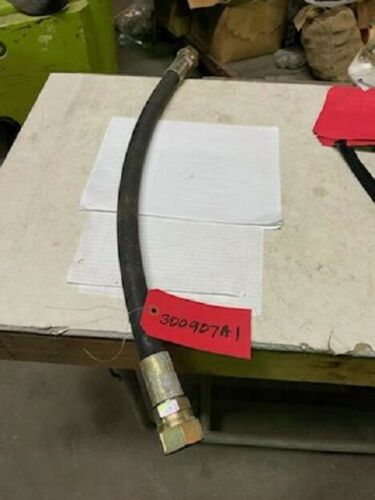 Cnh Oem 300907a1 Backhoe Hydraulic Hose, Auxiliary Control Valves To Swing Tower