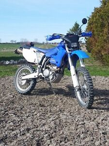 2003 WR250X Blue Plated