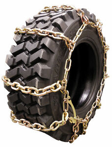 Skid Steer Tire Chains Ebay