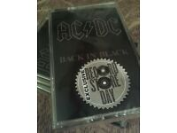 AC/DC back in black Cassette record store day 2018