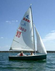Albacore sailboat for sail