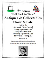 """Fall Back in Time"" Antique Collectible Sale"