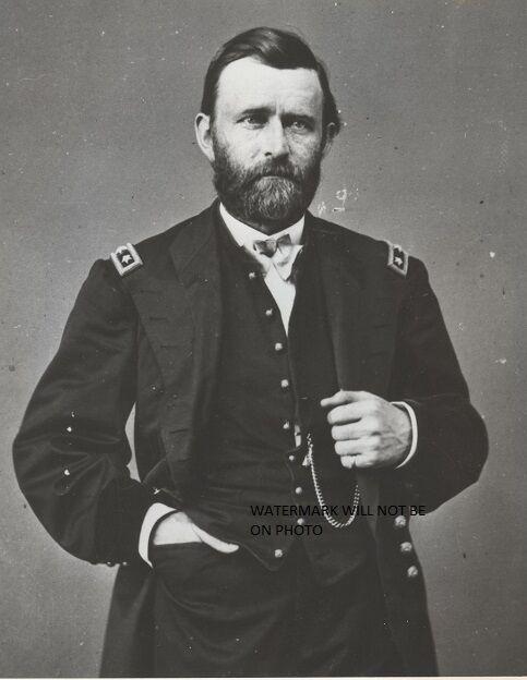 "Union General Ulysses S. Grant 8""x 10"" Civil War Photo Picture #46"