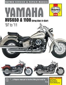 1998-2011 Yamaha XVS650 XVS1100 Drag Star V-Star Repair Service Manual 2697