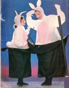 Costume pour enfant 8-12 ans lapin dans le chapeau