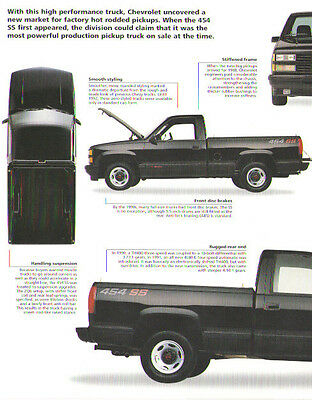 (1991 Chevrolet 454 SS Pickup Truck Article - Must See !!)