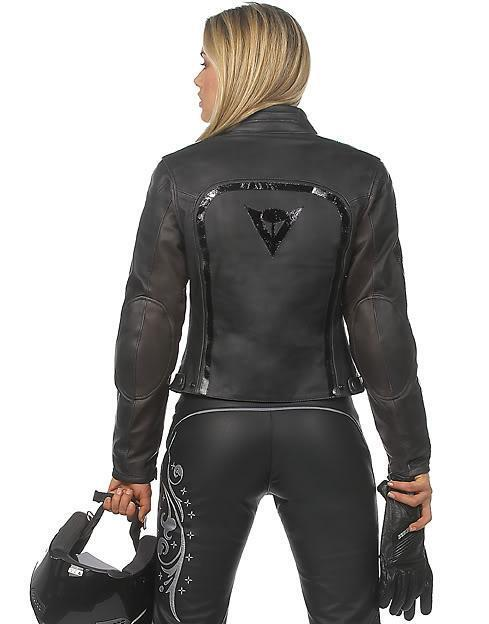 New Dainese Leather Jacket Removable Liner Amp Armour Sz