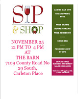 Ladies Day Out  Holiday Sip & Shop