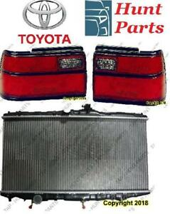 Toyota Corolla 1988 1989 1990 1991 1992 Radiator Side Marker Lamp Light Taillamp Tail lamp