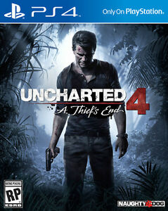 Brand New Sealed Uncharted 4
