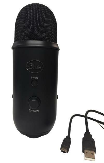Blue Yeti USB Microphone Black - No Base