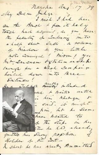 Abolitionist John Murray Forbes Opposes Gen. Butler