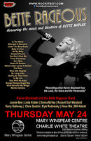 BETTE RAGEOUS - THE MUSIC OF BETTE MIDLER