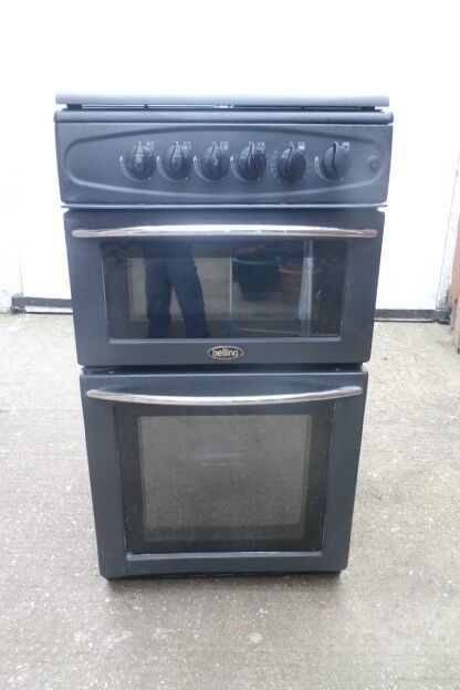 Free standing Belling 4 ring gas cooker oven & grill 50 cms