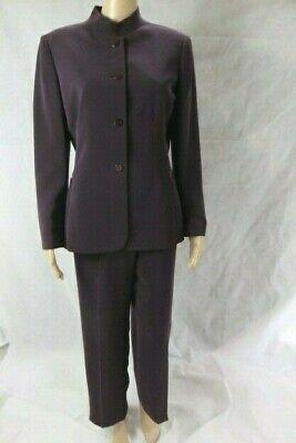 Tahari Purple Pant Suit Size 10P