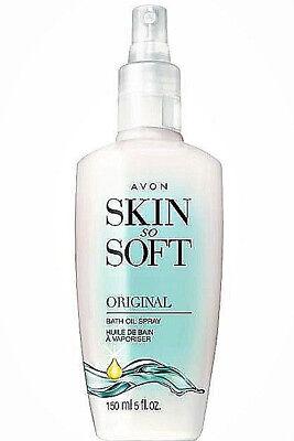 Avon Skin So Soft Bath oil 5 oz Spray Original