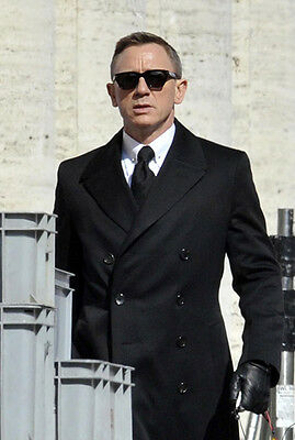 07c89a63a3 ... NEW James Bond 007 SPECTRE TOM FORD Snowdon Black Sunglasses TF 237 FT  0237 05B фото ...