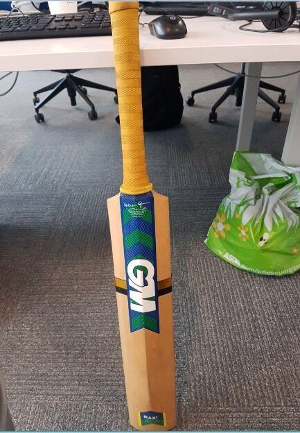 Used cricket bats