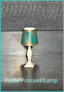 Petite Princess Table Lamp and Shade Dollhouse Furniture Belleville Belleville Area image 2