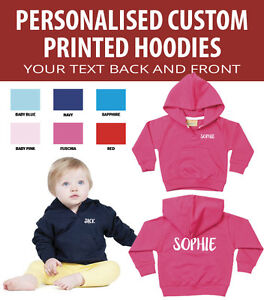 Personalised-Baby-and-Toddler-Hoodies-Great-gift-Add-your-own-text