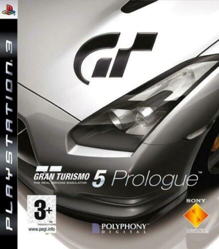 Gran Turismo 5 prologue (ps3 used game)