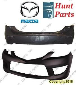 All Mazda Bumper Cover Front Rear Fender Grille Hood Absorber Couverture Pare-Chocs Arrière Avant Aile Capot Absorbeur