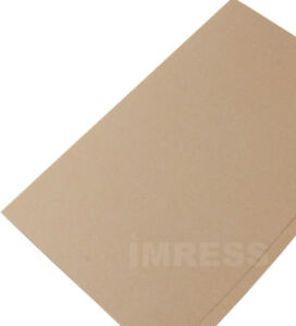 50 x Manilla Economy Foolscap Square Cut Folders 170gsm Paper A4 Document File