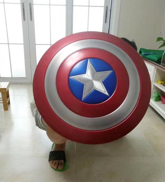 Купить Captain America Vibranium Shield Made of Aluminum Alloy 1:1 Scale Cosplay Prop