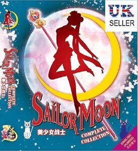 Anime Sailor Moon Complete Season 1-6 + Movies ENGLISH DVD Box Set - UK DISPATCH