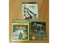 3x playstation3 awesome games