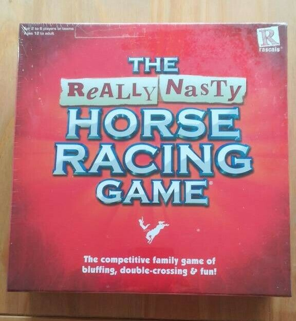 Really Nasty Horse Racing Board Game | in Yelverton, Devon | Gumtree