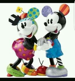 Limited edition Mickey and Minnie mouse figurine