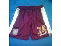 Aston Villa away shorts