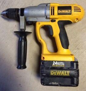 DeWALT heavy duty drill/hammerdrill